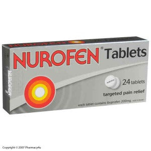 Nurofen 200mg Tablets - Pack 24