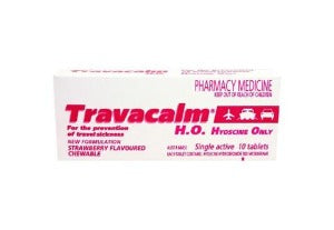 Travacalm Hyoscine Only Tablets