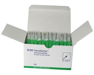 Bd Vacutainer Multi Sample Blood Collection Needles - Box 100