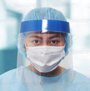 Clear Visor Full Face Shield 33 x 25cm
