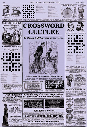 Crossword: Crossword Culture | 12 Month Subscription