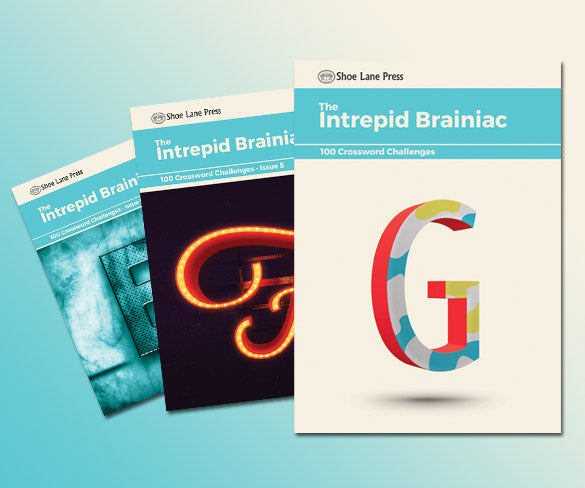 Intrepid Brainiac Crosswords | Free trial ( 7 days ) then £39.99 every 6 months