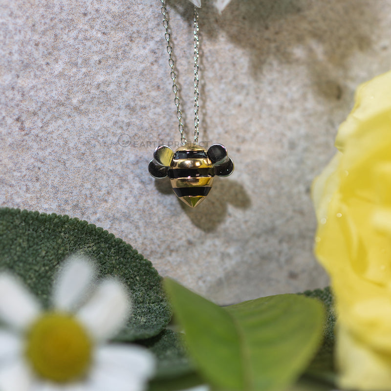 'Bee Charming' Bumblebee Necklace