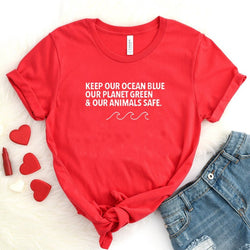 Keep Our Ocean Blue - Tee