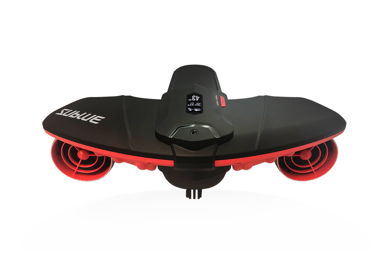 Sublue Seabow underwater scooter for adult scuba dive underwater photograph