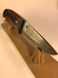 "Rose Hollow Forge Knife- 3 1/2"" blade"