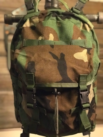Military 3 Day Pack - Slightly Used