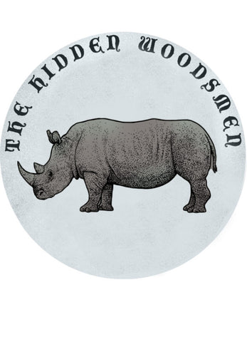 THE HIDDEN WOODSMEN White Rhino Patch