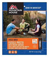 Mountain House Fusilli Pasta