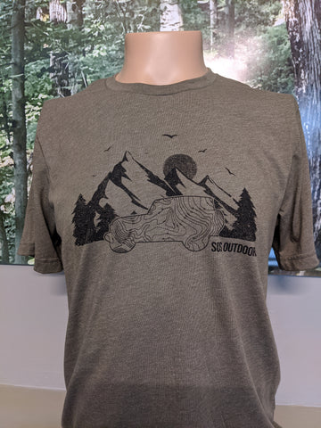 SOS Jeep T Shirt