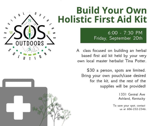 HERBAL BASED FIRST AID - Into to Wild Medicinals