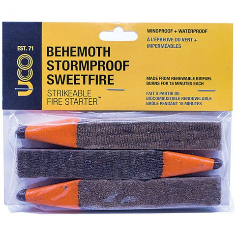 UCO Behemoth Sweetfire 3 pack