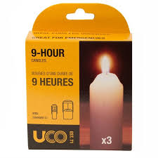 UCO CANDLES