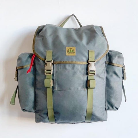 THE HIDDEN WOODSMEN Forest Rucksack- Fett Green
