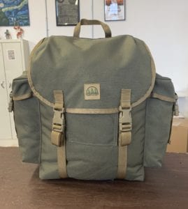 THE HIDDEN WOODSMEN Forest Rucksack -Ranger Green
