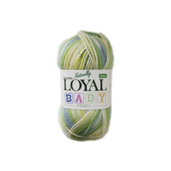 Naturally Loyal  Baby Prints 4 ply 100% Wool