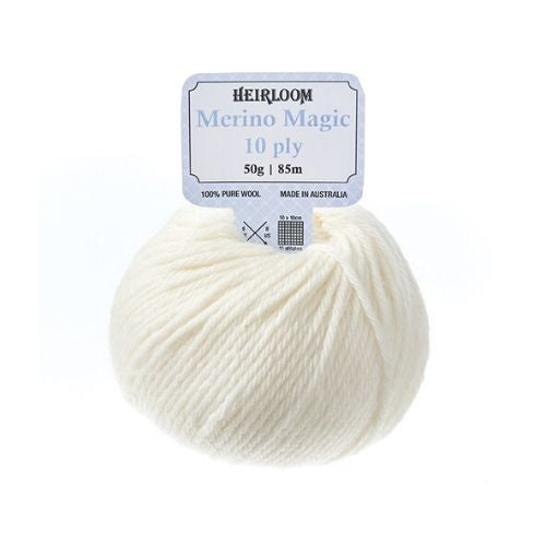 Heirloom Merino Magic 10 ply 100% Pure Wool