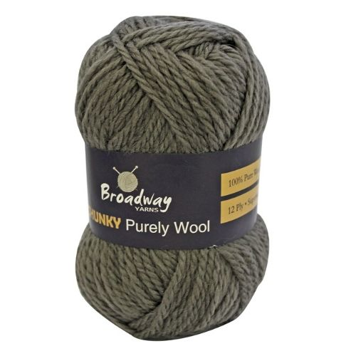 Broadway Chunky 12 ply Purely Wool 100% Pure Wool