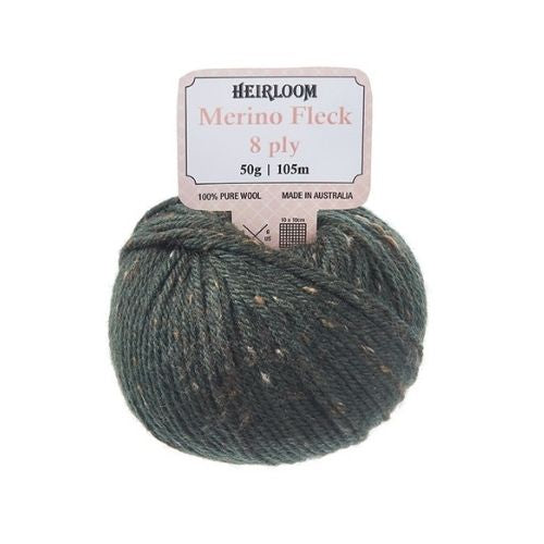 Heirloom Merino Fleck 8 ply 100% Pure Wool
