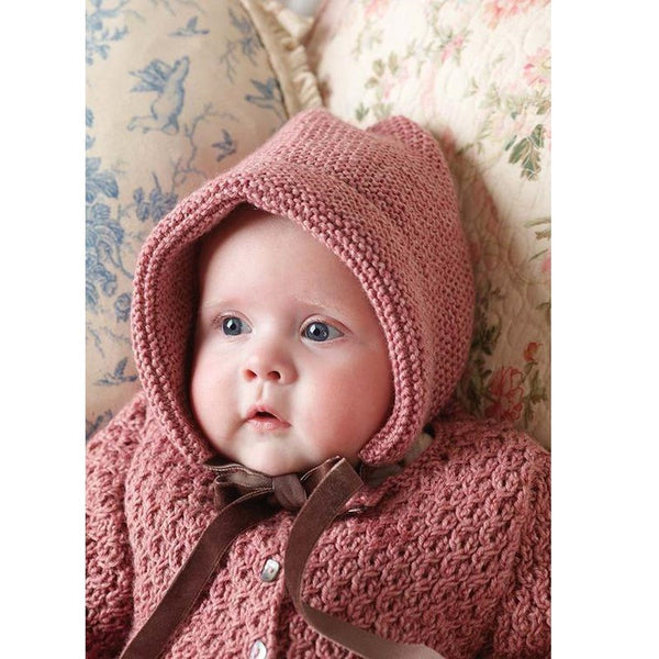 Rowan Pattern Burnett, Bonnet, By Lisa Richardson,