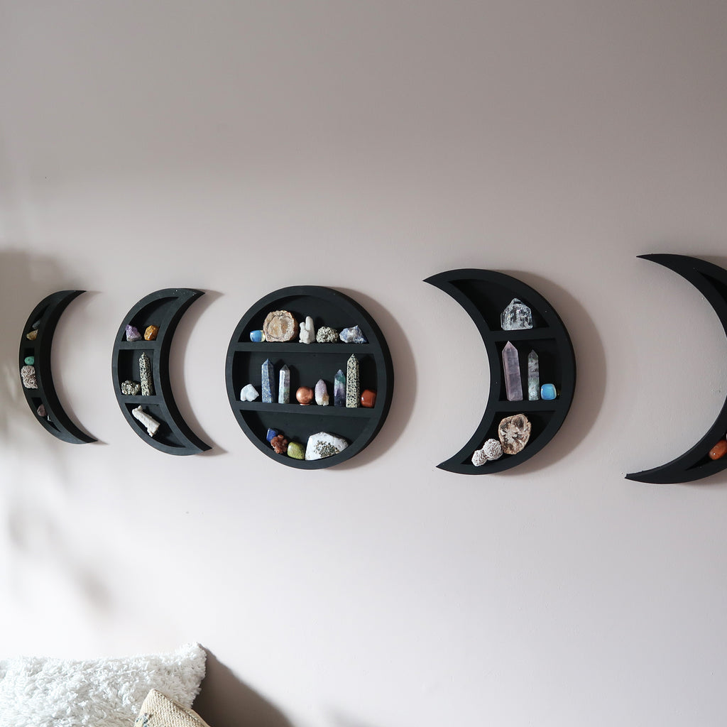Original Moonphase Shelves - coppermoonboutique