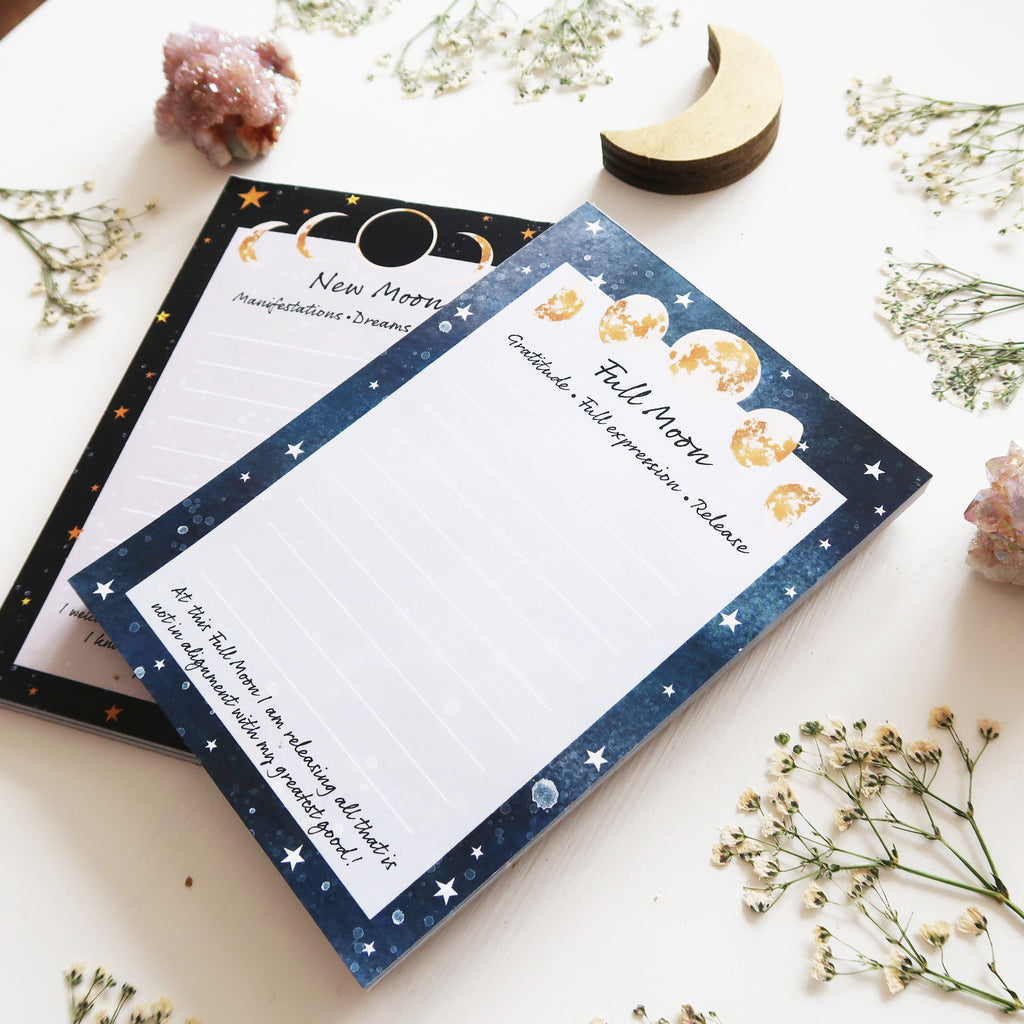 Moon Ritual Notepad Pack - coppermoonboutique