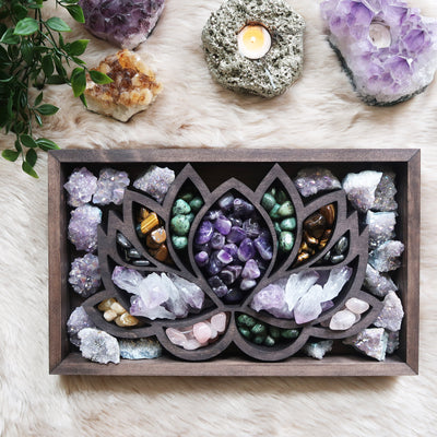Lotus Crystal Box - coppermoonboutique