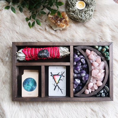 Moon Tarot Crystal Box - coppermoonboutique