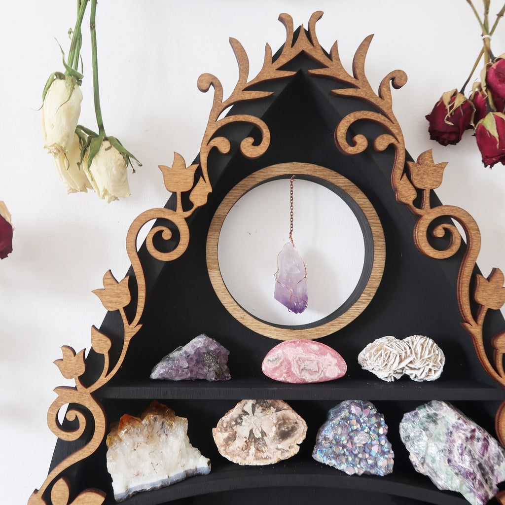 Botanical Planchette Crystal Shelf - coppermoonboutique