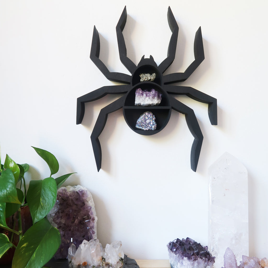 Spider Crystal Shelf - coppermoonboutique