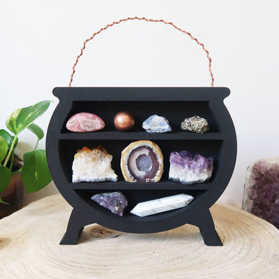 Crystal Cauldron Shelf - coppermoonboutique