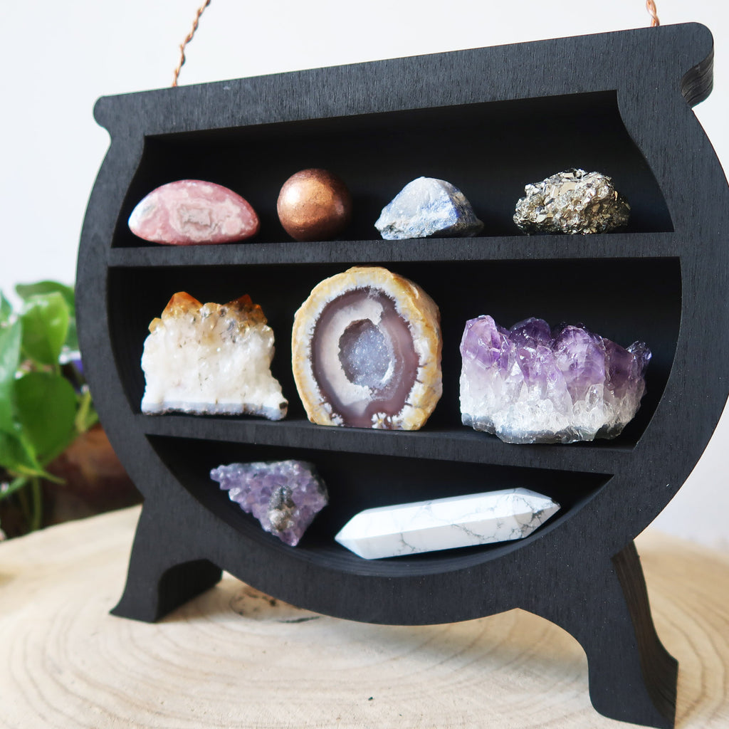 Crystal Cauldron Shelf