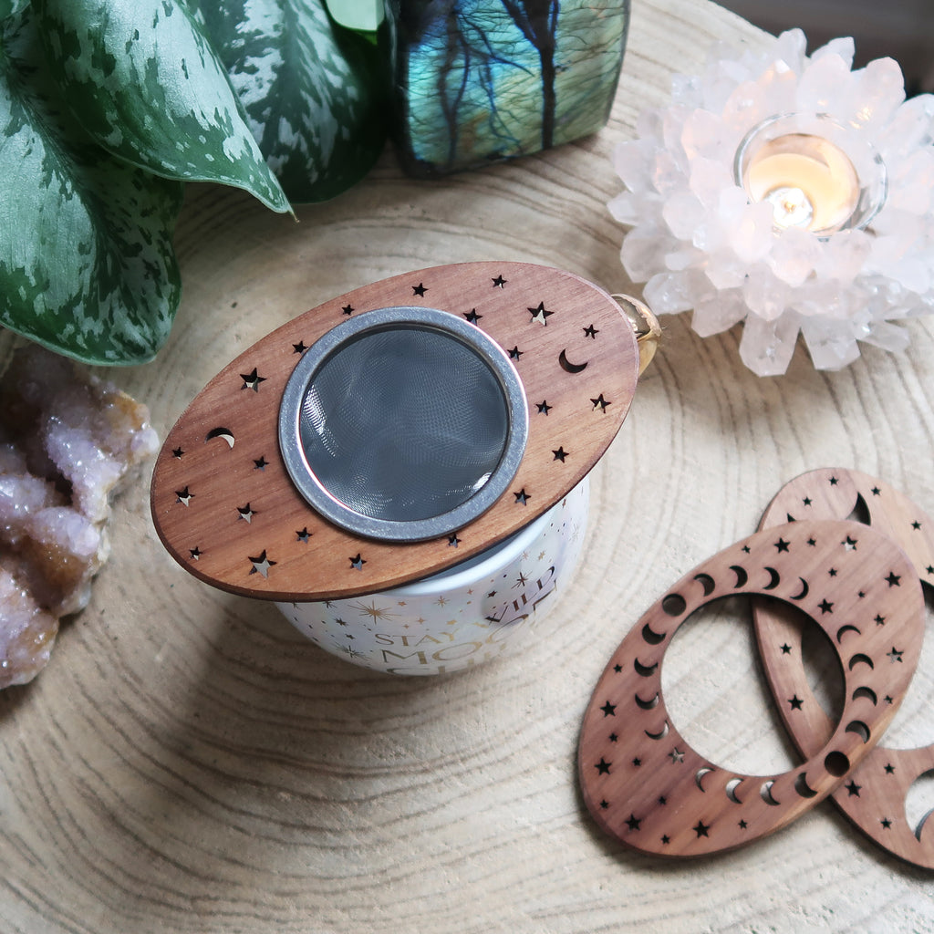 Moon Loose Leaf Tea Strainers - coppermoonboutique