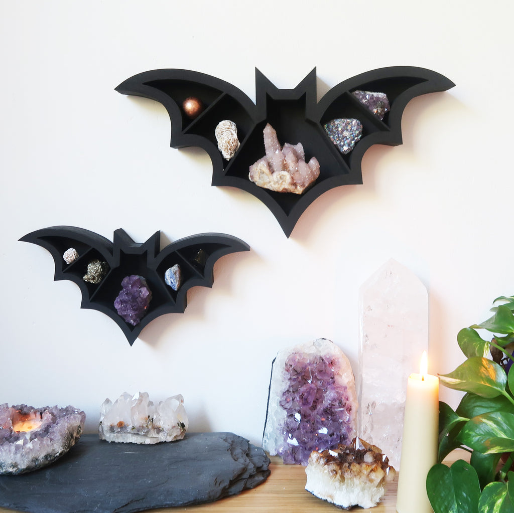 Bat Crystal Shelf - coppermoonboutique