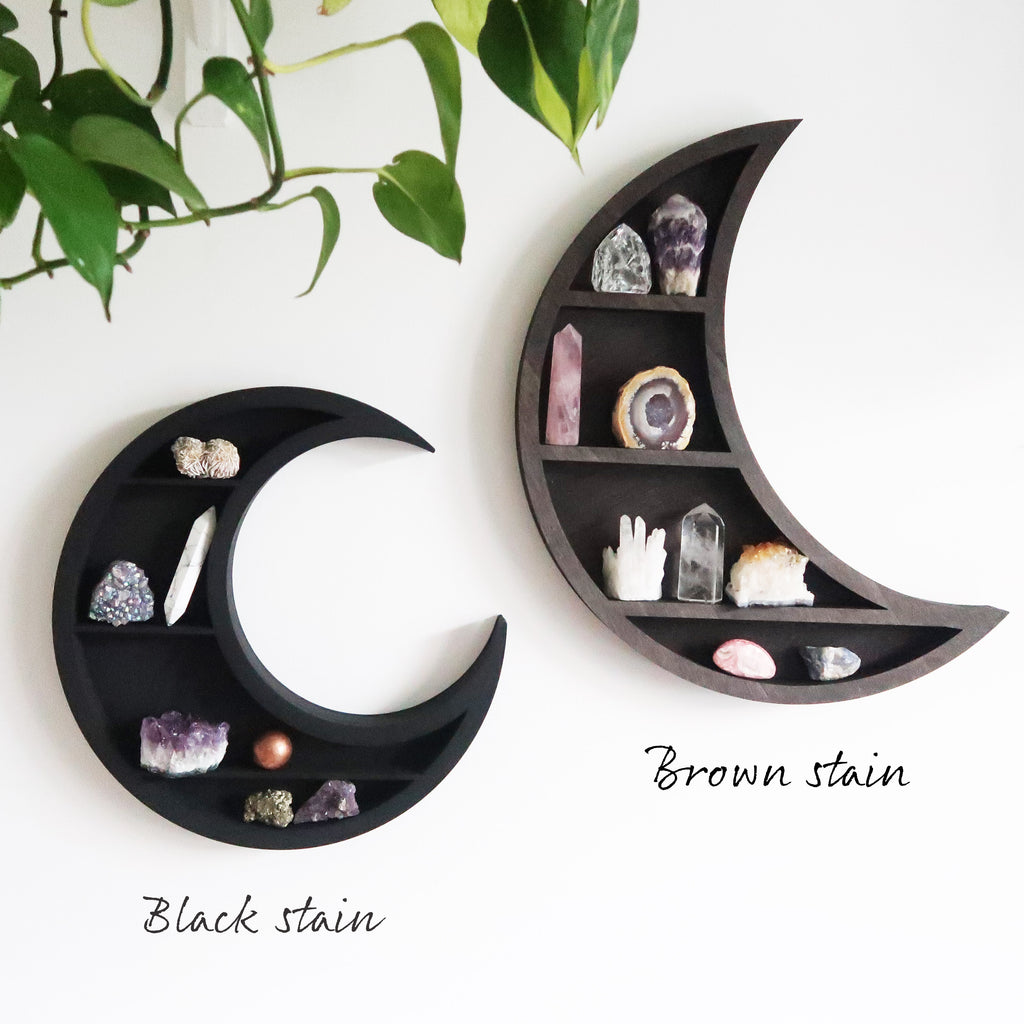 Wooden Sun Shelf - coppermoonboutique