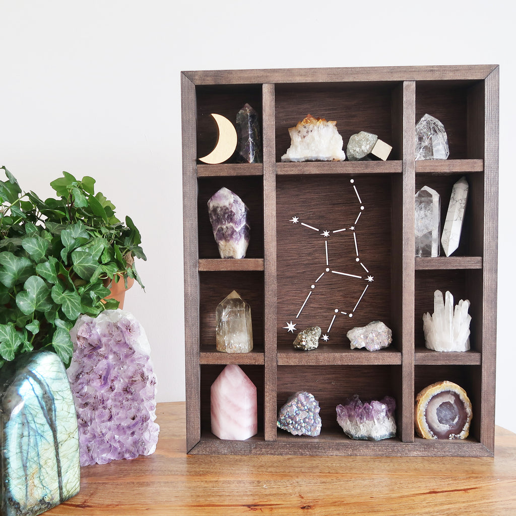 Zodiac Crystal Shelf - coppermoonboutique