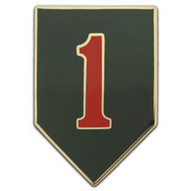 1st Infantry Division Combat Service Identification Badge - CSIB