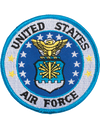 Air Force Round Patch