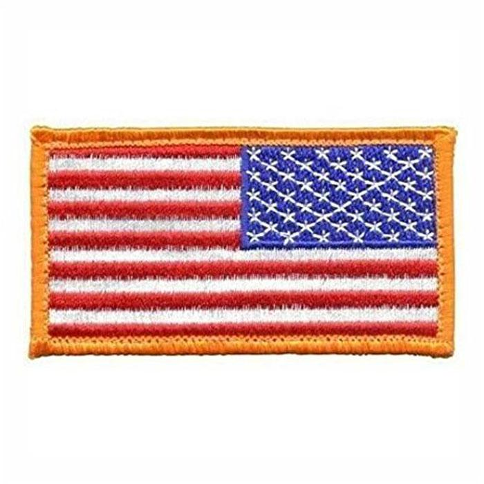 American Flag Reverse Color Without Hook and Loop