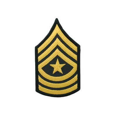 Army Dress Blue Sew On Rank SGM