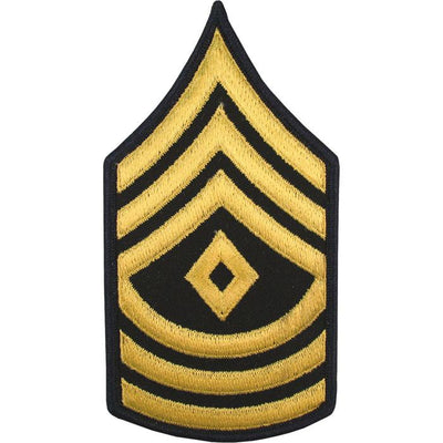 Army Dress Blue Sew On Rank SPC First Sergeant