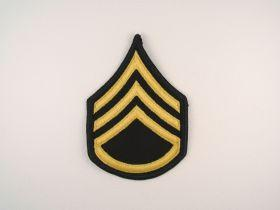 Army Dress Blue Sew On Rank SSG