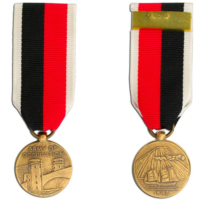 Army Occupation Medal, Miniature