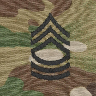 Army Patrol Cap Sew On Rank OCP MSG