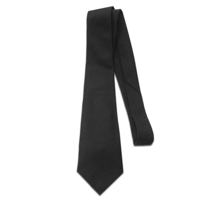 Army Tie - 4-In-Hand - Black