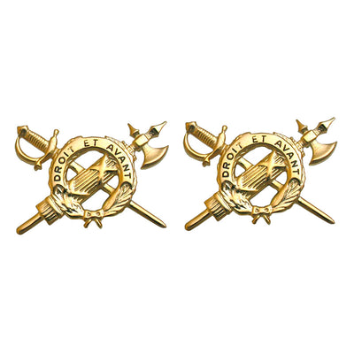 Army Inspector General Branch Insignia - Officer - Set of 2