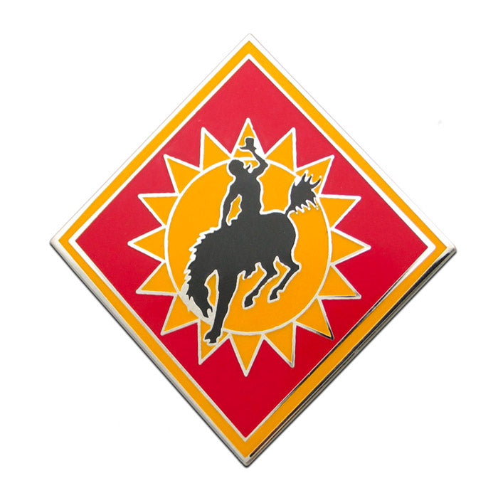 115th Field Artillery Brigade Combat Service Identification Badge