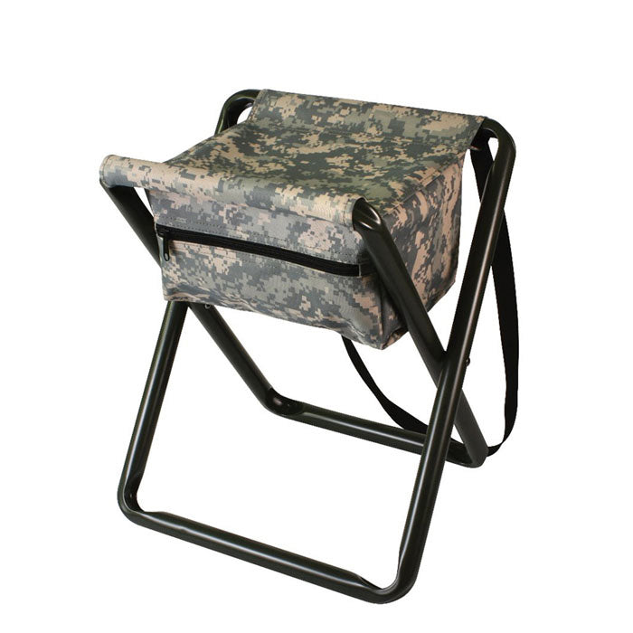 Deluxe Stool with Pouch ACU Digital