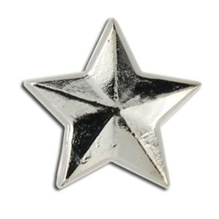 Army Single Silver Star 3/16""