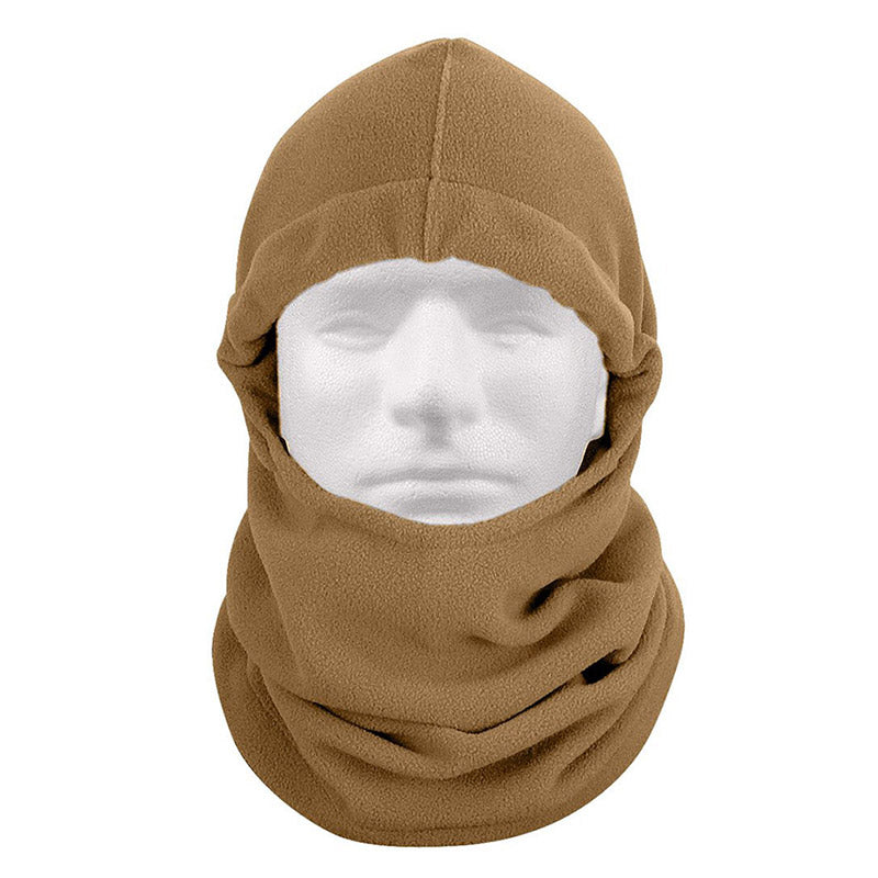 Rothco Adjustable Polar Fleece Balaclava - Coyote Brown